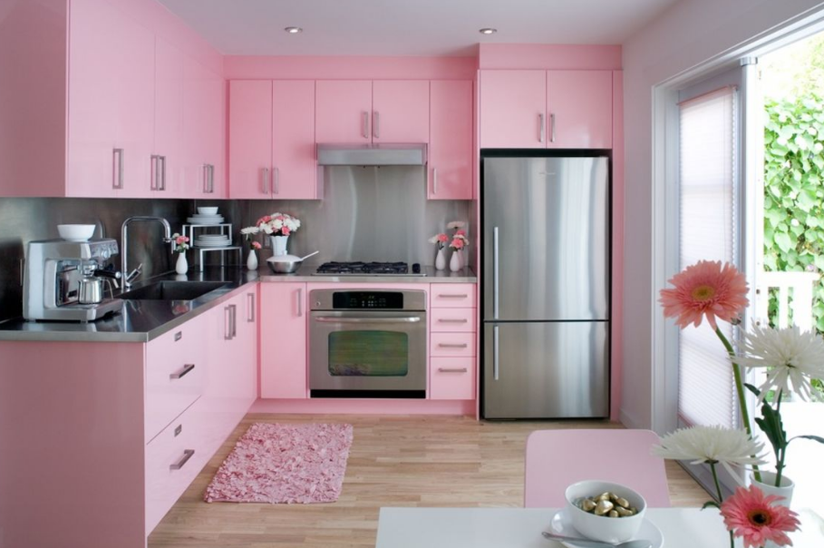 Gambar Desain dapur minimalis modern yang cantik