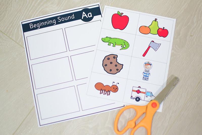 Alphabet Curriculum: Sound Games