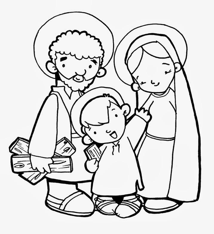 ReliArtes: Sagrada familia (Dibujo)