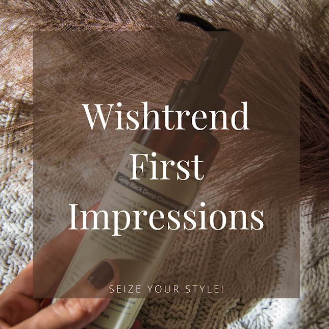 First Impressions Korean Beauty from Wishtrend
