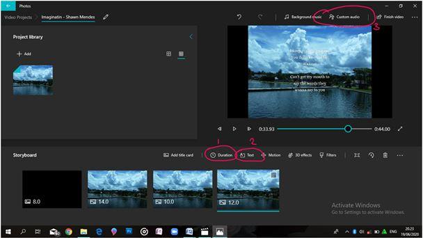 Cara Edit Video Lirik Lagu untuk Karokean