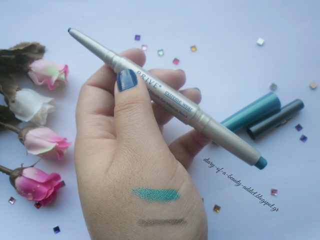 PRIVE Waterproof Double Eye Makeup Pencil Granite Blue Spirit