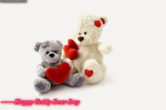Happy Teddy Bear Day Best HD Wallpaper