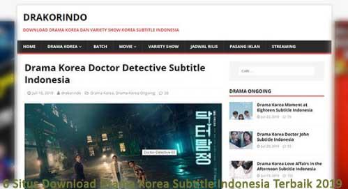 6 Situs Download Drama Korea Subtitle Indonesia Terbaik 2019