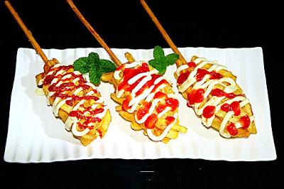 Cara Mudah Membuat Hotang (Hotdog Kentang) Lezat dan Gurih