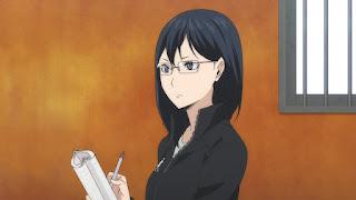ハイキュー!! アニメ 3期10話 清水潔子   HAIKYU!! Season3