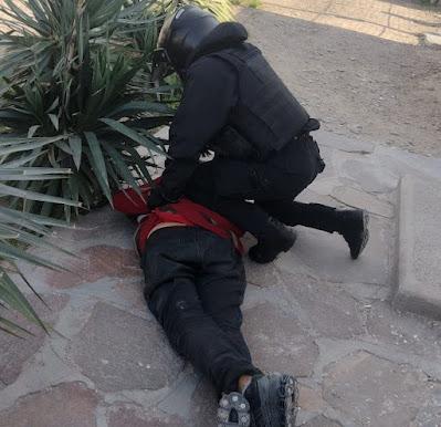Madryn la mas insegura de Chubut: detuvo a un ladrón que entró a robar a su casa