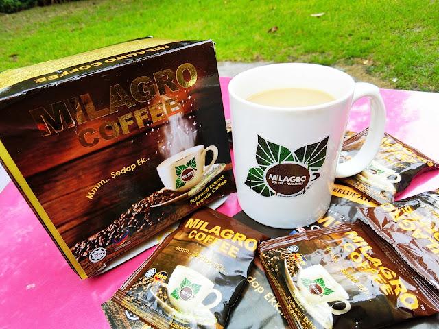 Minuman Milagro Coffee Penawar Kencing Manis.