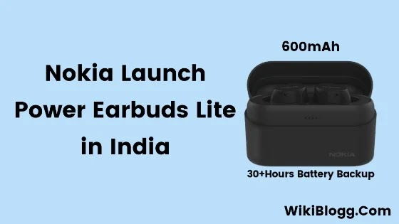 Nokia Launch Power Earbuds Lite in India