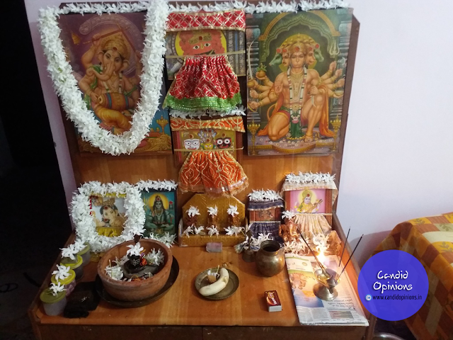 My Humble Ganesh Puja at Home