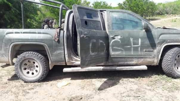 Sedena asegura importante arsenal y autos blindados en Reynosa, Tamaulipas