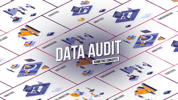 Data audit - Isometric Concept[Videohive][After Effects][28986817]