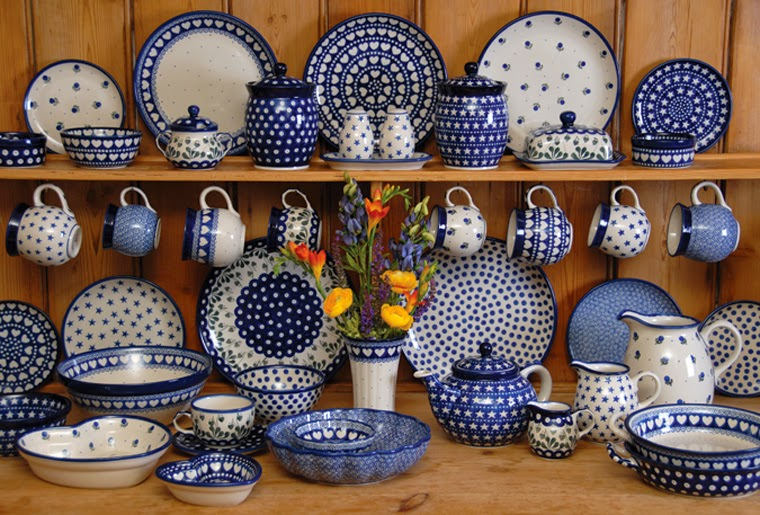 I M Back With Polish Pottery Dimples And Tangles