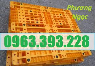 Pallet nhựa đã qua sử dụng, pallet dùng cho xe nâng, pallet kê hàng, pallet cũ