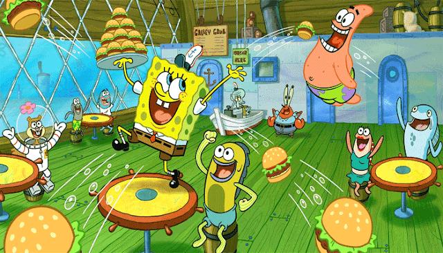 Spongebob Lucu
