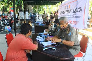 Opgab Perda 7/2020 di Kota Mataram, Kesadaran Warga Meningkat, Pelanggaran Menurun