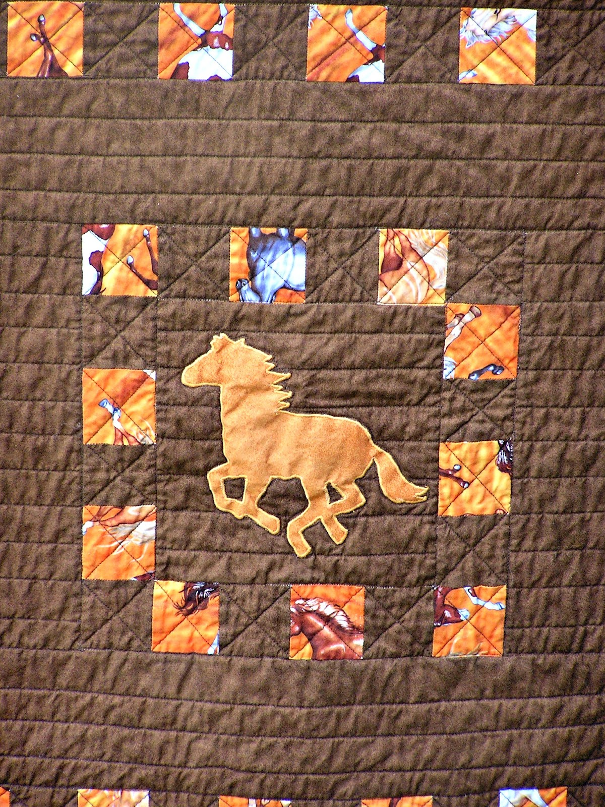 The Fleming S Nine Horse Quilt