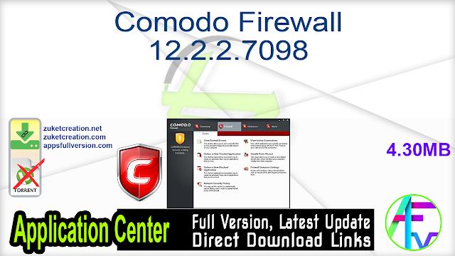 Comodo Firewall 12.2.2.7098