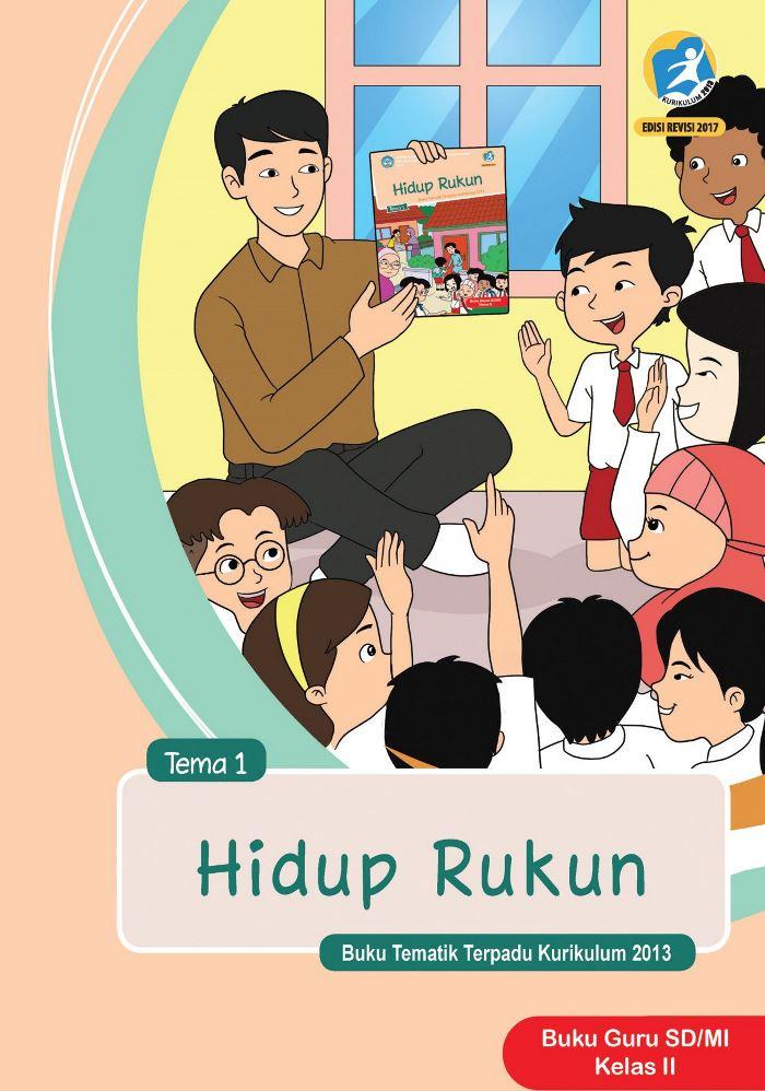 Buku Guru Tematik SD Kelas II Tema 1 Hidup Rukun
