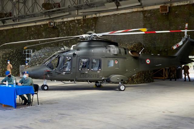 Capacità di ultima generazione per l'Esercito grazie al nuovo elicottero AW169