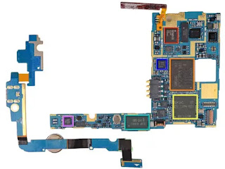 information on integrated Circuit in all Samsung Galaxy Mobile Motherboards