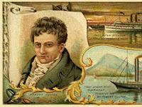 Robert Fulton, Pelukis yang Menciptakan Kapal Perang Uap Pertama di Dunia