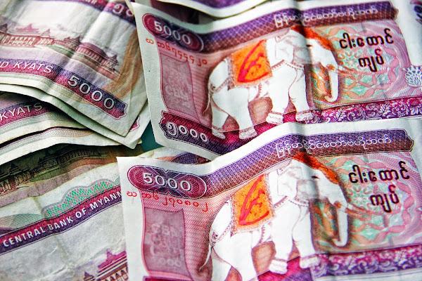Moneda de Myanmar - Kyat Birmano