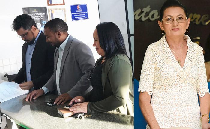 Vereadores Alberto Carlos, Itamar e Licinha denunciam presidente da Câmara de Chapadinha, Vera Lúcia