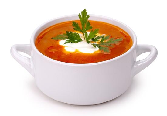 8. Sopa de Frango e Tomate