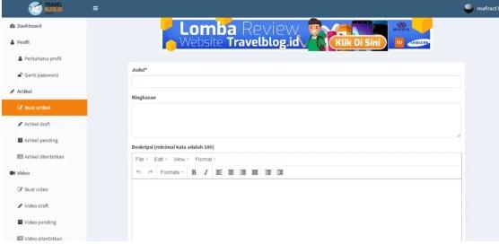 menulis di travelblogid