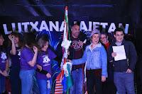 Inicio de las fiestas de Lutxana