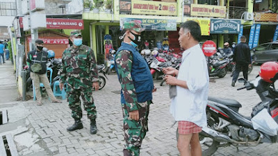 Danramil 0911/Cimut, Plt Wali Kota Cimahi  Berikan Support Kepada Tim Lapangan