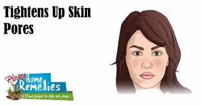 Tightens Up Skin Pores