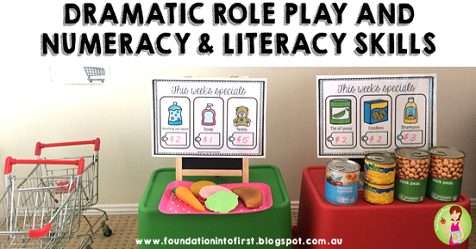 role play, dramatic, numeracy, literacy, prek, kindergarten, grade 1, year 1, grade one, teaching, teacher, resources, printables
