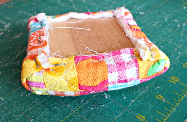 quilted pincushion top