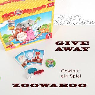 Stadtlandeltern - Geschenkidee - Ostern - Kinderspiel - Zoowaboo - Pegasus Spiele