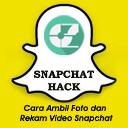 Cara Ambil Foto dan Rekam Video Snapchat