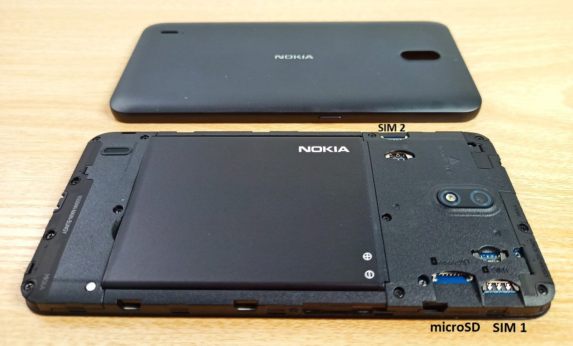 nokia c2 unboxing and hands-on review