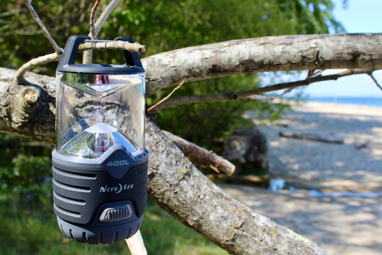 NiteIze Radiant 400 LED Outdoor Camping Lantern