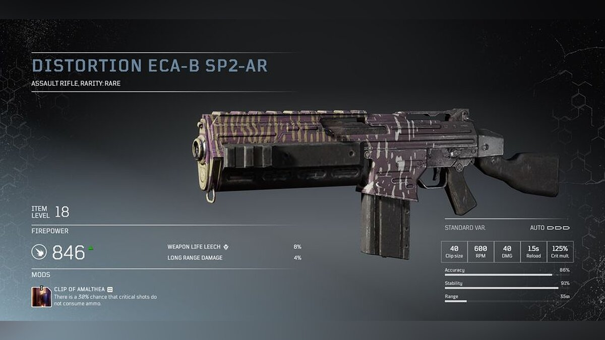 Tier 1 weapon modifications