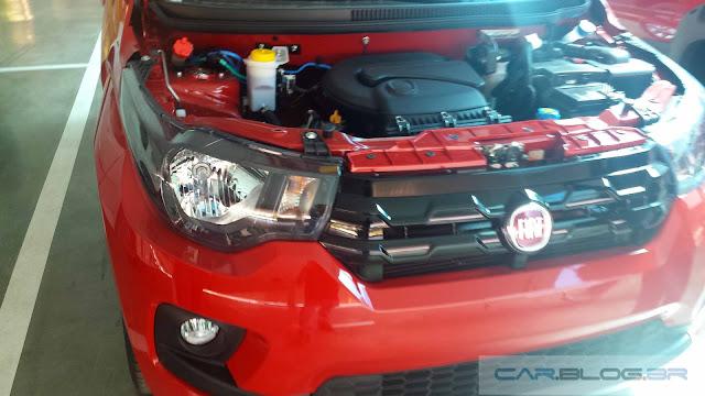Novo Fiat Mobi Like 2017 - frente