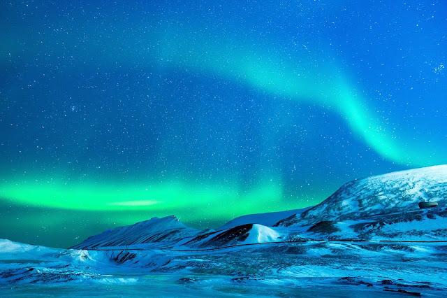 أجمل المناظر الخلابة في الشفق القطبي