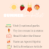 Summer Bucket List | July 18, 2020