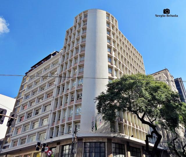 Vista ampla do Edifício da OAB SP - Bela Vista - São Paulo