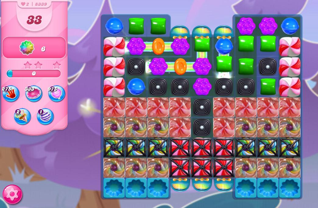 Candy Crush Saga level 8339