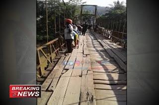 Jembatan Gantung Lalay Bantarkalong