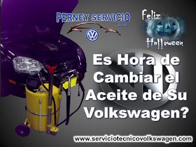 Servicio Volkswagen Cambio de Aceite