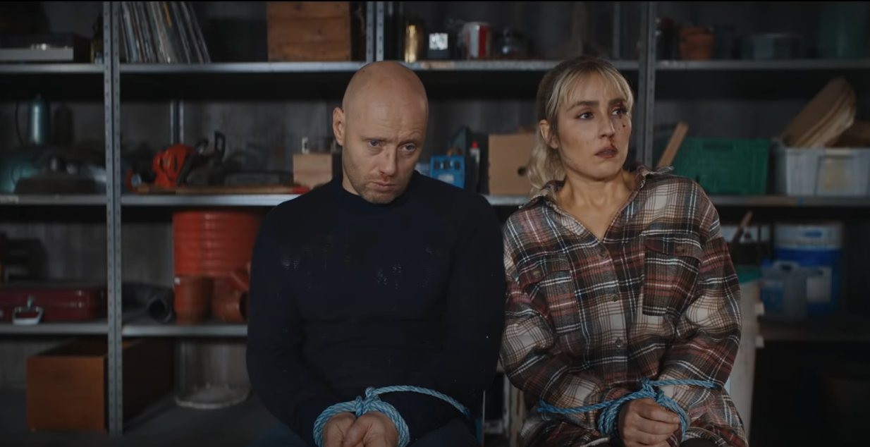 ERIK MARTIN WILLÈN: I onde dager (The Trip) 2021 - Noomi Rapace - SF  STUDIOS Norge
