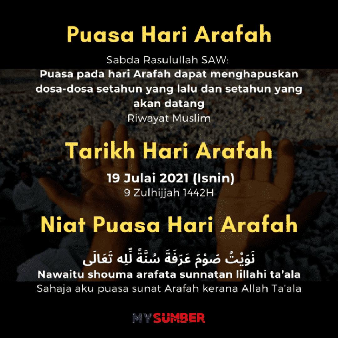 Puasa Sunat Hari Arafah