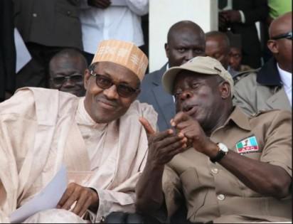 President Buhari-Governor Oshiomole